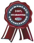 Certified Translation Services Company Guarantee